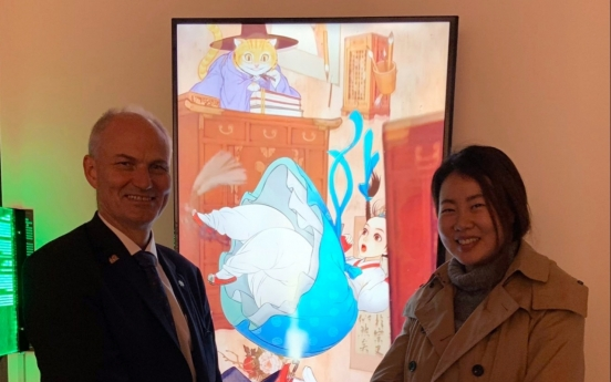 [Diplomatic circuit] Korea Foundation, Danish Embassy open VR-incorporated exhibition