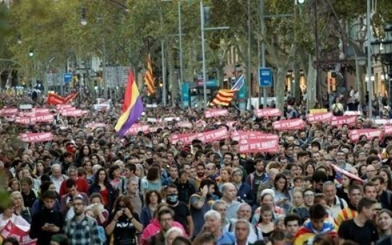 South Korea lowers travel advisory for Catalonia