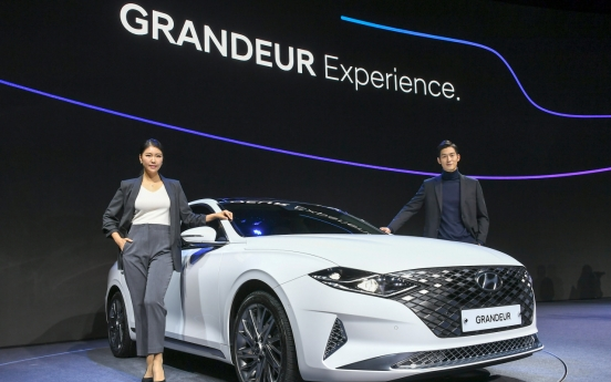 Hyundai Motor begins sales of facelifted New Grandeur