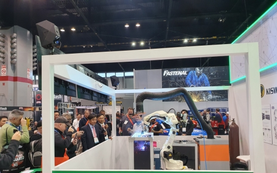Posco, Kiswel demonstrate advanced welding solution at Fabtech 2019