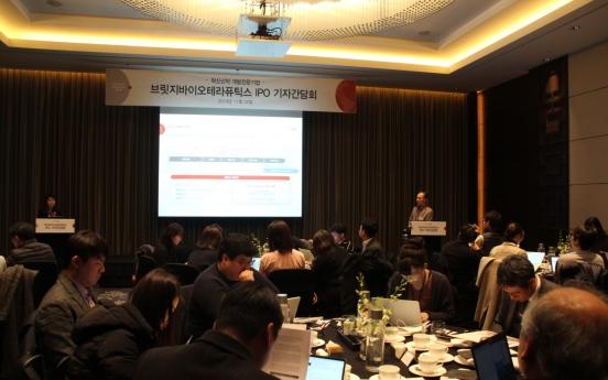 Bridge Biotherapeutics to become first 'NRDO' biotech to go public in Korea