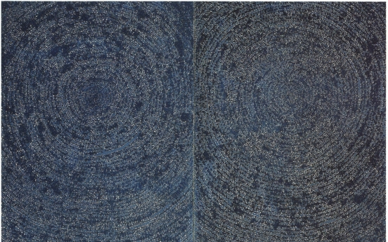 Painting by S. Korean abstract master Kim Whan-ki fetches 13.2b won in Hong Kong
