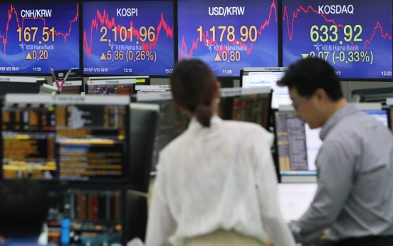 S. Korean investors turn to overseas funds amid sluggish market