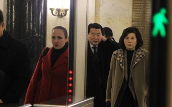 Senior N. Korean diplomat returns home after strategic talks in Russia