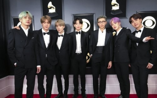 BTS picks up American Music Award for 2nd consecutive year
