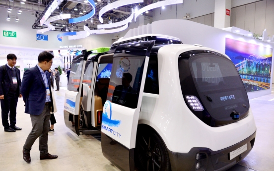 [ASEAN-Korea summit] Smart City Fair shows glimpse of connected, sustainable future