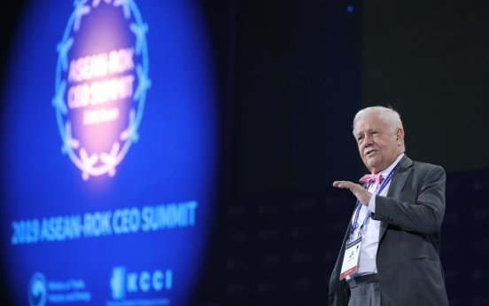 [ASEAN-Korea summit] Jim Rogers foresees bright, exciting future for S. Korea