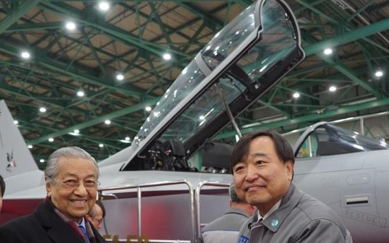 [ASEAN-Korea summit] Malaysian premier visits KAI's production facility