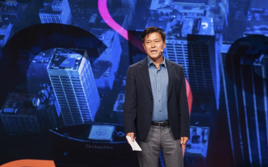 [ASEAN-Korea summit] SK Telecom CEO proposes TEAM project for Asian content biz with 5G