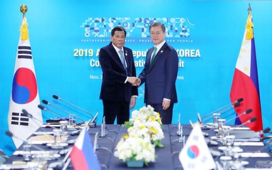 [ASEAN-Korea summit] Korea, Philippines to speed up FTA talks