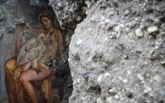 Pompeii's grand baths unveiled, with hidden tragedy