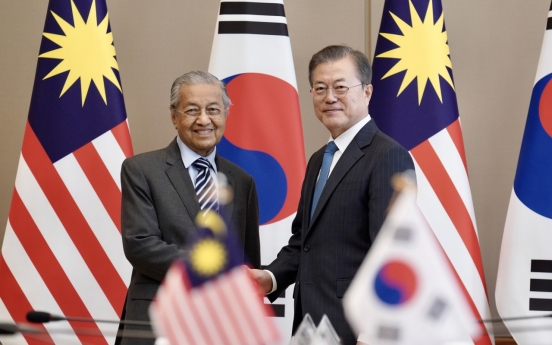 Korea, Malaysia to upgrade relations to strategic partnership