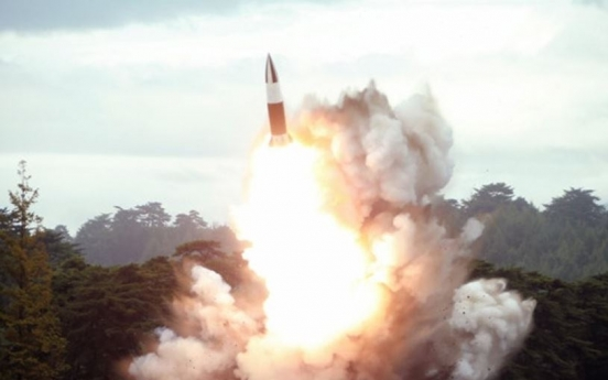 N. Korea fires 2 unidentified projectiles into East Sea: JCS