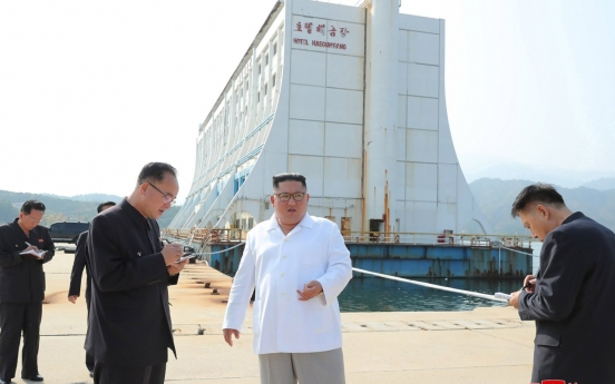 Seoul considers carrying out maintenance work on facilities at Kumgangsan