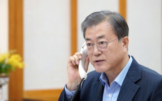 Moon, new EU chief affirm joint efforts for Korea peace