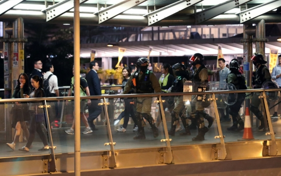 'Still angry': Hong Kong protesters return to the streets