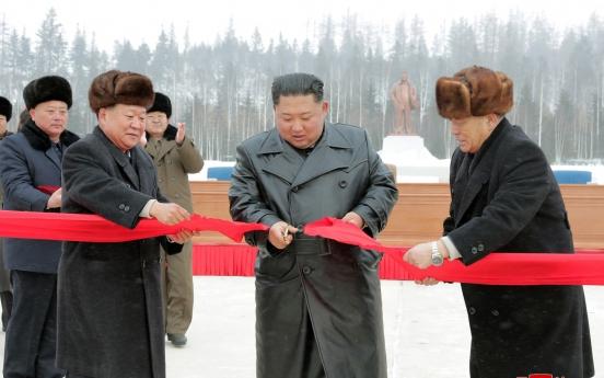 NK leader visits Samjiyon ahead of year-end deadline for nuke talks with Washington