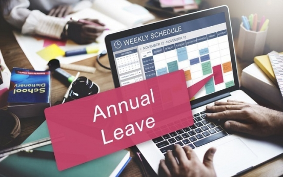73% of Korean workers say they have leftover leave