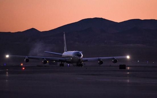 US flies surveillance plane over S. Korea: aviation tracker