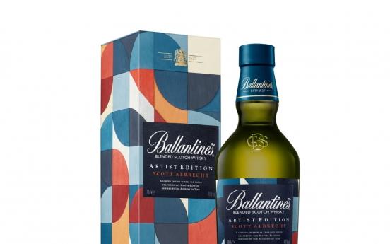 Ballantine's leads imported Scotch whiskey market in Korea