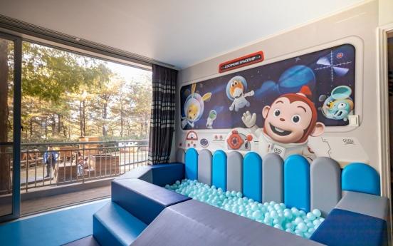 Wizard, character themed kids rooms at Kensington