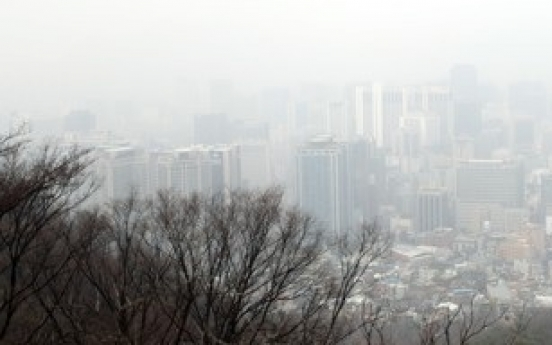 Ultrafine dust chokes Korea, cold spell expected late Wednesday
