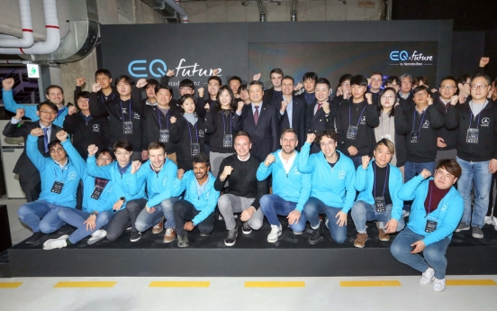 Mercedes-Benz Korea holds future mobility startup hackathon