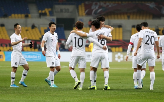 S. Korea beat Hong Kong 2-0 to start men's E. Asian football tournament