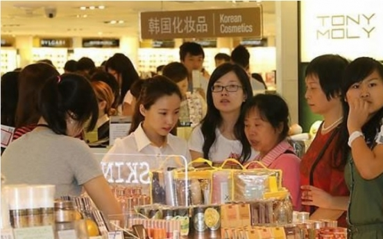 Japan threatens to overtake S. Korea in China's cosmetics market