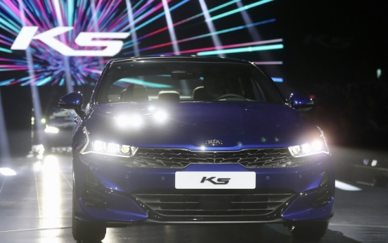 K5 preorders set new record for Kia