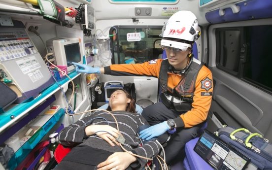 KT teams up with fire agency, hospital for emergency rescue using 5G-AI