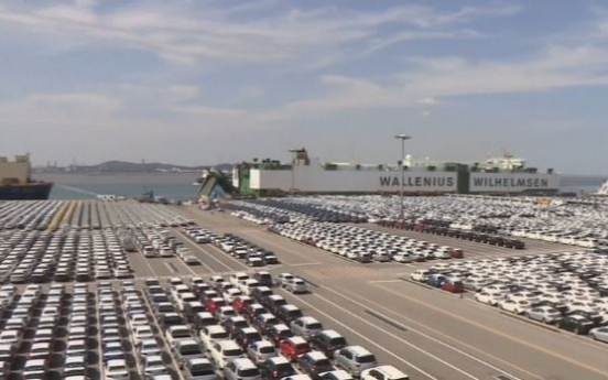 Auto exports down for 4th month on weak demand from Asia