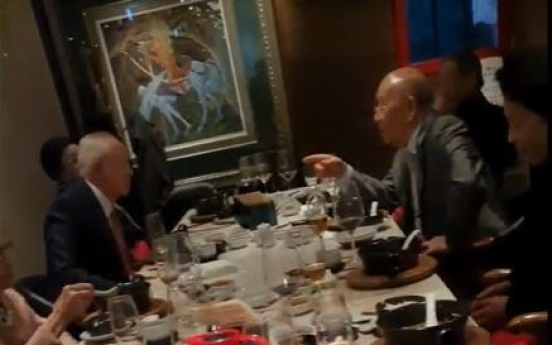Ruling party slams ex-president for extravagant wine and dine