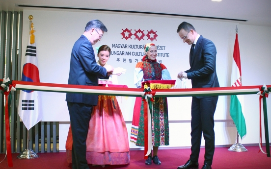 [Diplomatic circuit] First Hungarian cultural center opens in Korea