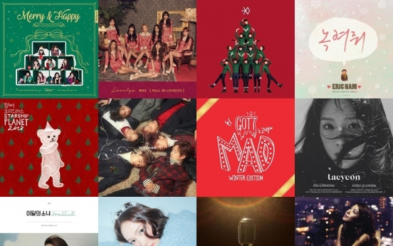 Playlist: 15 best K-pop Christmas songs, from Twice, EXO to LOONA and more