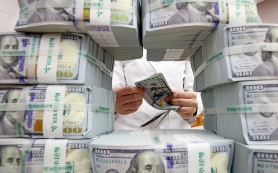Foreign currency deposits slightly drop in Nov.