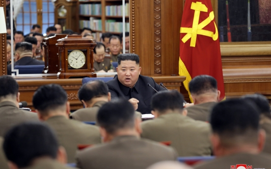 NK leader presides over expanded Central Military Commission meeting of Workers' Party