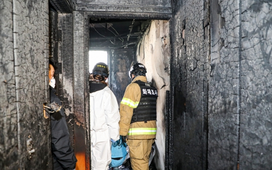 [Newsmaker] At least 2 killed in Gwangju motel fire, death toll expected to rise
