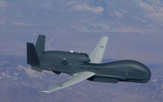 S. Korea brings in first Global Hawk unmanned aircraft