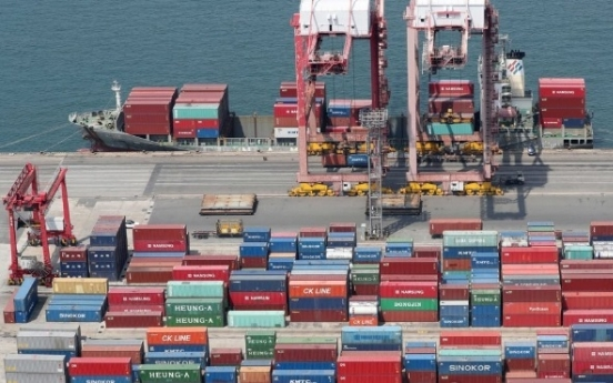 Korea's exports down 2% in first 20 days of December