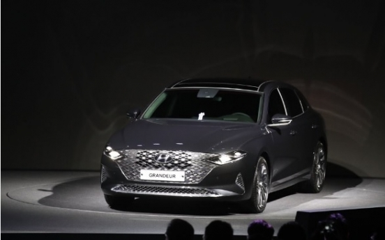 Hyundai's upgraded Grandeur gets more than 50,000 preorders in S. Korea
