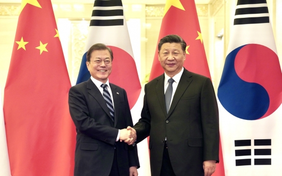 Moon, Xi stress importance of maintaining Pyongyang-Washington dialogue momentum