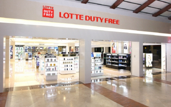 Online sales at Lotte Duty Free to surpass W3tr