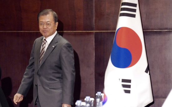 Moon: Time for world to act to advance nuclear talks with N. Korea