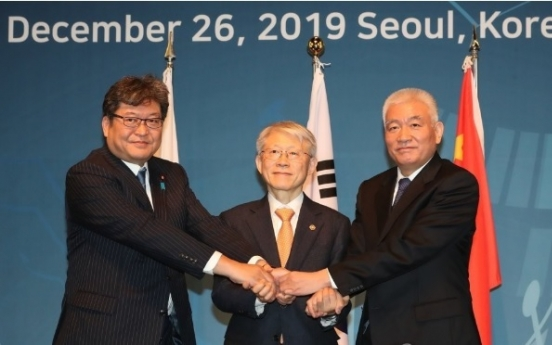 Seoul, Beijing, Tokyo to carry out joint study to address pending issues