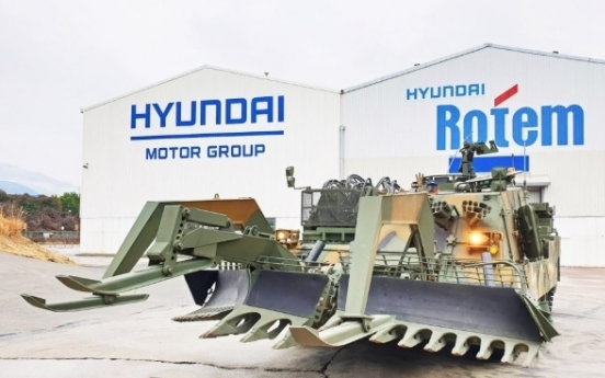 Hyundai Rotem wins deals worth W243.3b for combat vehicles