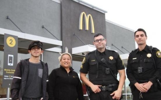 남자친구에 협박당하던 美여성, 맥도날드 직원들 도움받아 구출