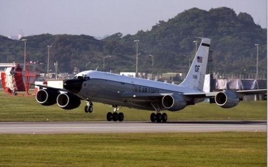 US flies surveillance plane over Korean peninsula: aviation tracker