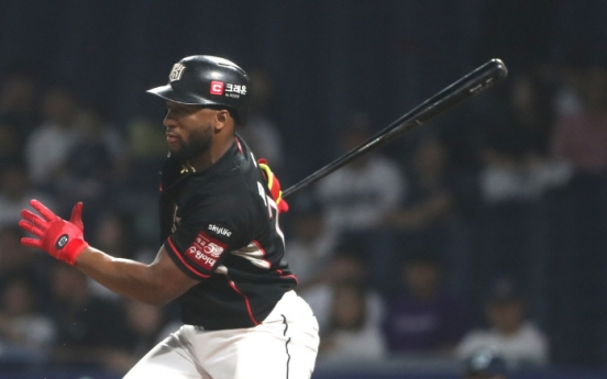 KBO club Wiz re-sign outfielder Mel Rojas Jr.