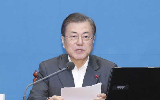Moon vows results from reform drive in new year